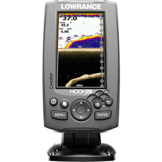 Lowrance HOOK-4X Fishfinder with Med/High/DownScan