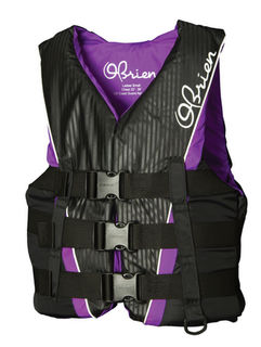 Obrien Ladies Nylon 3 Belt Pro Life Jacket