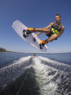 Skiing getting too tough - try wakeboarding