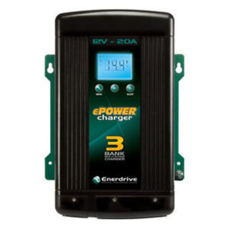 EPower 3 Stage 12V 20A Charger