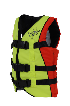 Hutchwilco Children's Hi-Viz Adjustable Vest Life Jacket