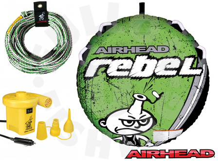 Airhead Rebel Inflatable Tube Kit (Includes Rope + Vaccuum)