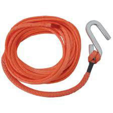 Orange Winch Rope with S Hook