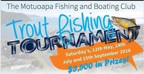 Motuoapa Boating/ Fishing Club Fishing Competition